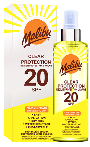 SPF20 Clear Protection Spray